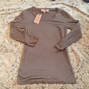 New with tags Philosophy 3/4 sleeve top